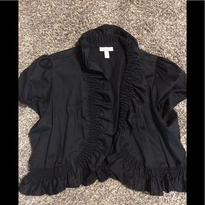 Black shrug dressy